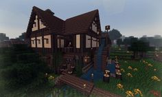 Post with 39793 views. Minecraft Epic Builds, Minecraft Cabin, Minecraft School, Minecraft Cottage, Minecraft Funny, Cool Minecraft Houses, How To Play Minecraft, Minecraft Stuff, Minecraft Templates