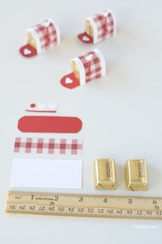 mini chocolate mailboxes | for Valentine's Day | Video on NoBiggie.net