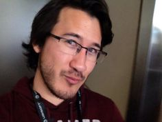 Markiplier doing his tiny cute smile