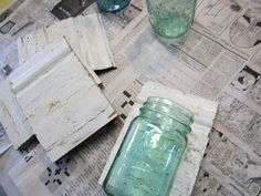 Shabby Garden Creations: Mason Jar Fun