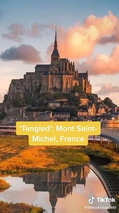 Vacation Places, Dream Vacations, Vacation Spots, Mont Saint Michel, Oh The Places You'll Go, Cool Places To Visit, Triste Disney, Most Beautiful Pictures, Cool Pictures