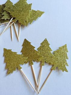 A personal favorite from my Etsy shop https://www.etsy.com/listing/457629798/christmas-in-august-glitter-pine-trees