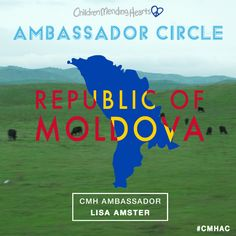 #CMHAC Ambassador to the Republic of Moldova - Lisa Amster.   https://childrenmendinghearts.org/cmh-ambassador-circle/  https://instagram.com/childrenmendinghearts/