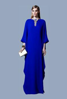 Elie Saab dress blue