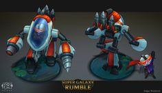 ArtStation - Super Galaxy Rumble, Edgar Monteon
