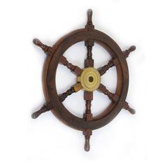 Bologna Wooden Ship Wheel