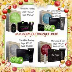 #holiday #gift-packs are here but not for long! Get yours before they are gone! www.getyourcrazyon.com today. #ItWorks #body #skin #greens #lifestyle