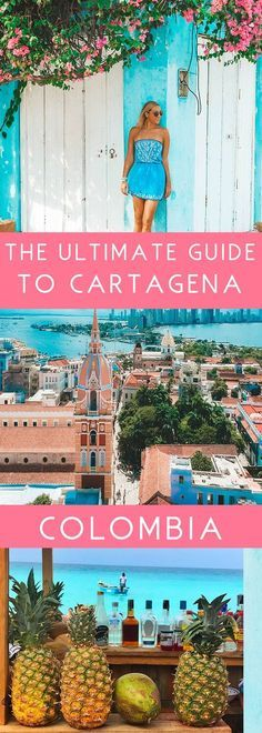 The Ultimate Travel Guide to Cartagena, Colombia - JetsetChristina San Andreas, Places To Travel, Travel Destinations, Holiday Destinations, Colombia Travel, South America Travel, Columbia South America, Ultimate Travel, Luxury Travel
