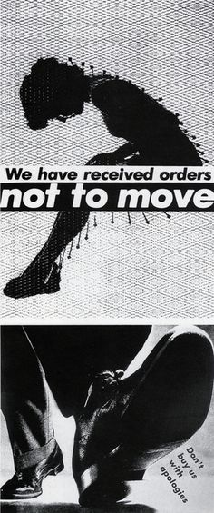 barbara kruger conceptual artist The graphic force of barbara kruger's use of language in her oeuvre is a  testament to the artist's lasting reputation in today's conceptual art world  composed of.
