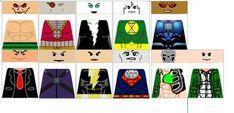 DeviantArt: More Like Custom LEGO DC Justice League Decals ...