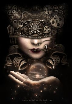 """Divination:  """"See No Evil,"""" by Zummerfish.  Via Witching Moon onto Divining Destiny."""