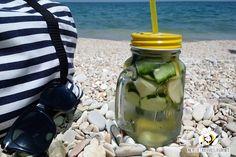 Acqua detox limone e cetriolo