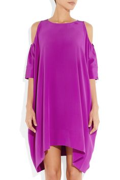 Richard Nicoll | Stella silk crepe de chine dress | NET-A-PORTER.COM