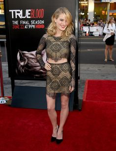 Ashley Hinshaw attends the premiere of HBO's 'True Blood' season 7 and final season at TCL Chinese Theatre on June 17, 2014 in Hollywood, California.
