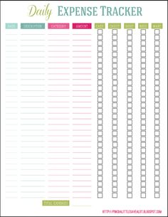 1000+ ideas about Expense Tracker on Pinterest | Budget ...