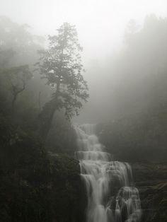 Misty Mountain Fall / Sanlinsi, Taiwan