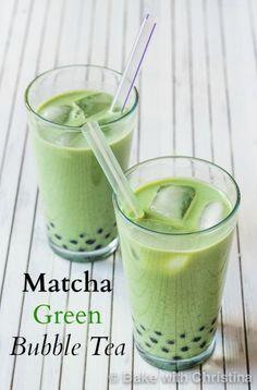 Matcha Green Bubble Tea