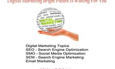 Eventual fate Of Digital Marketing Training at whatever point we methodology to look for the administrations of a SEO, we have to ensure that the gentleman has knowing instead of having some essential data On-page advertising.