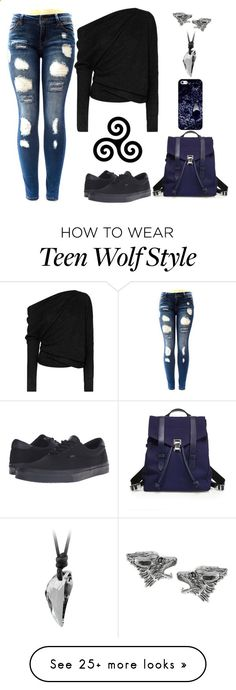 Teen Wolf Inspired by lucy-wolf on Polyvore featuring Tom Ford, Vans, Journee Collection, Casetify and Proenza Schouler