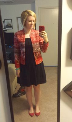 What We Wore: Patterned Jackets - Two Take on Style