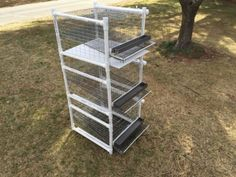 Stackable-quail-cage