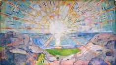 'The Sun' (1911), by Edvard Munch