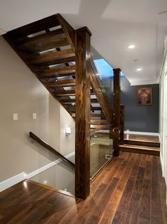 Partially Open Staircase Idea Open Up Part Of Wall And