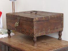 Antique Shekawati Box https://www.scaramangashop.co.uk/item/3408/137/Gifts-For-The-Home/Antique-Shekawati-Box.html