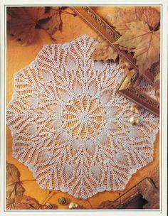 World crochet: Napkin 42