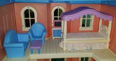 Little Tikes My Size Barbie Dollhouse, 1990's Bedroom Set