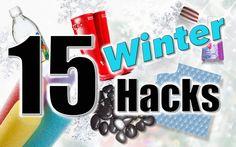 MOM HACKS   15 Winter Hacks   Mindy from Millennial Moms