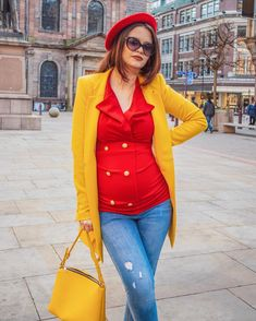 When the blazer dress becomes a blouse 😂🤰🏻 Blazer Dress, Maternity Fashion, River Island, The Creator, How To Become, Zara, Style Inspiration, Blouse, Content