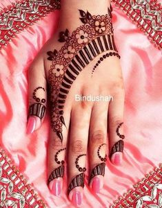 This is what i want to get....Mehndi design