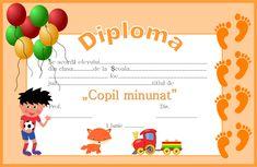 Diploma pentru 1 Iunie - Ziua Copilului Teachers Corner, Parenting, Clip Art, Homemade, Education, Montessori, Children, Birthday, 8 Martie