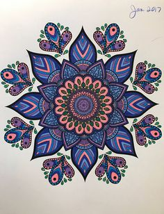 ColorIt Mandalas Volume 2 Colorist: Debbie Christensen Seddell #adultcoloring #coloringforadults #mandalas #mandalastocolor