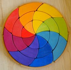 Geothe's Color Wheel.    Flickr By waldorf mama