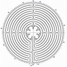 Graphic of the labyrinth