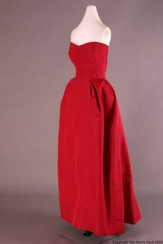 Evening Dress  Christian Dior, 1952  The Henry Ford Costume Collection