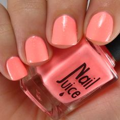 Nail Juice is all about nail polish, nail care and nail art. We also have our own line of polishes that we showcase on the blog. Peach Colored Nails, Peach Nails, Nail Care, Nail Colors, Juice, Nail Polish, Blog, Art, Art Background