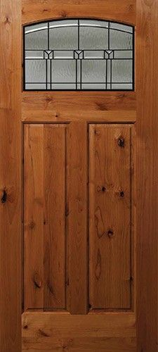 Old world style rustic wood entry doors. These unique exterior doors are made from distressed mahogany or knotty alder woods, and have classic accessories such as grilles, clavos and a working speakeasy. Knotty Alder Doors, Wood Doors, Old World, Tall Cabinet Storage, Rustic, Living Room, Front Doors, Furniture, Board