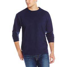 Jerzees Men's Long-Sleeve T-Shirt         ** To view further for this item, visit the image link. (This is an affiliate link) #ClothingShoesJewelry