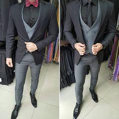 SkinnyFit suit, galla/business