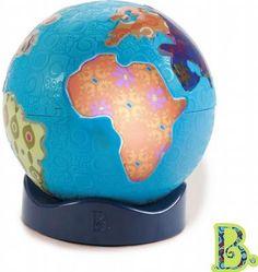 Globus z muzyką świata - Globus z wygrywaną muzyką pozwoli Ci poznać świat w niezwykle ciekawy i kreatywny sposób. Przy pomocy melodii!