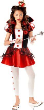 Teen Girls Queen of Hearts Costume- Top Costumes- Teen Girls Costumes- Teen Costumes  sc 1 st  Pinterest & 16 best Teen girls Halloween costumes!! images on Pinterest ...