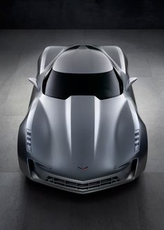 Nice Lines - Chevrolet Stingray Concept Front Top View