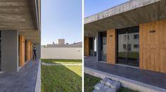 Atelier Gael, Arquitectura contemporánea. Estudio Moirë arqs. Garage Doors, Outdoor Decor, Home Decor, Contemporary Architecture, Architects, Studio, Colors, Houses, Atelier