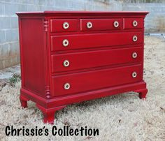 General Finishes Holiday Red by Chrissie's Collection