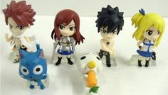 Hard to Find Fairy Tail 6 Piece Figure Set Featuring Natsu Dragneel, Happy, Ezra Scarlet, Gray Fullbuster, Lucy Heartfilia, and Pue (A.K.A. Nokora) Figures Fairy Tail http://www.amazon.com/dp/B008L5FO66/ref=cm_sw_r_pi_dp_ai4Ltb0MVC7T0NBC