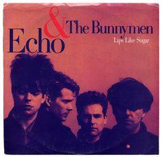 """Lips Like Sugar"" Echo & The Bunnymen, Sire Records/USA (1987)"