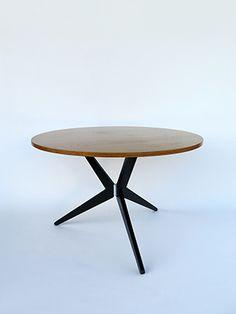 Bellmann Hans 1950 Dining table model 1110 for Wohnbedarf AG